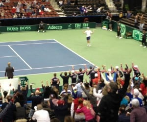 Sam Querrey clinches the Tie for Team USA
