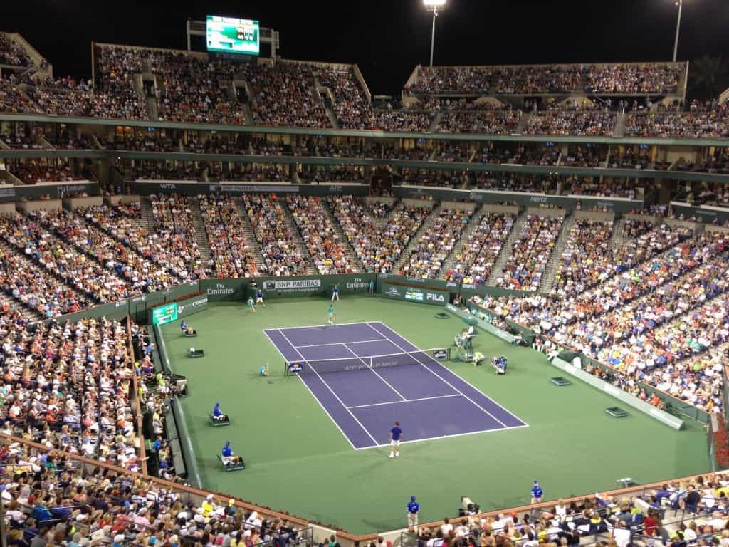 BNP Paribas Quarterfinal - Rafael Nadal vs. Roger Federer