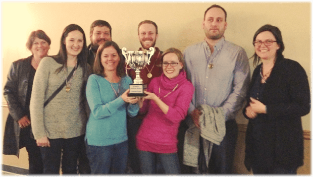 The 2014 Champions - Summit Preparatory School Trivia Night