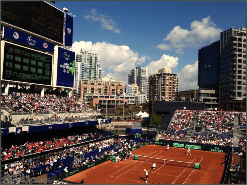 Davis Cup San Diego - @ToddNoonan