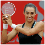 Timely. Caroline Garcia wins her first title in Bogota before heading to St. Louis to take-on Team USA